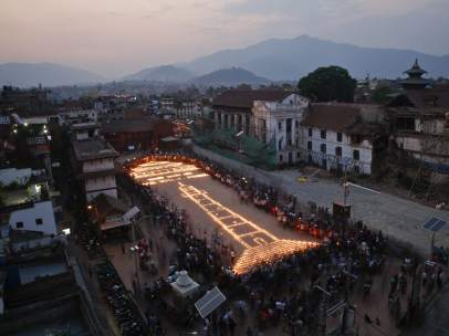 El terremoto de Nepal, un año después