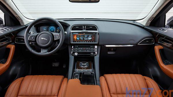 Interior del Jaguar F-Pace