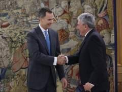El Rey recibe al diputado Pedro Quevedo