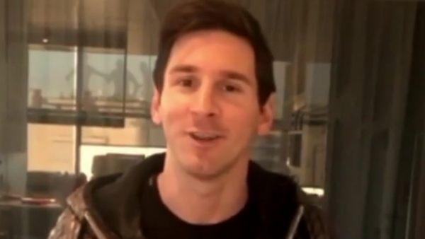 Messi cumple su promesa con Stephen Curry
