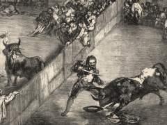 Goya retrata la tauromaquia