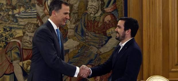 """Garzón cree que """"el ciudadano Felipe de Borbón"""" trabaja ya sobre unas posibles elecciones"""