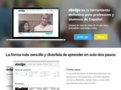 Una plataforma digital, para profesores y alumnos de español