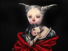 Lo invisible se hace presente en el arte de la iraní Afarin Sajedi