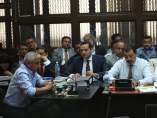 Otto Pérez Molina declara por corrupción portuaria