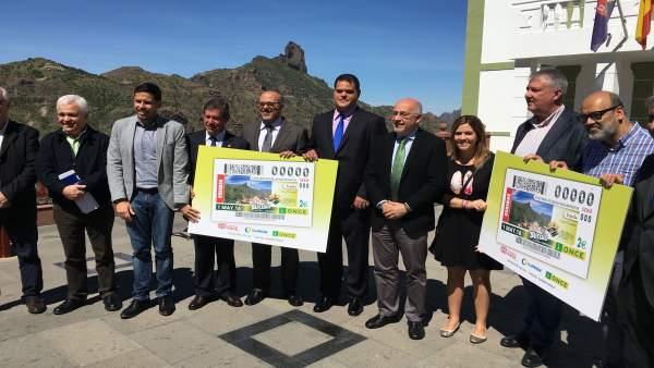 Tejeda (Gran Canaria) protagonizará el cupón de la ONCE del 1 de mayo