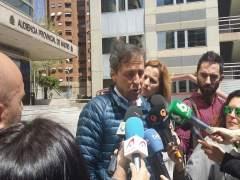 Paco González en la Audiencia de Madrid