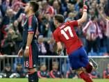 Saúl en el Atlético - Bayern