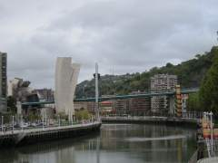 Cielo nublado en Bilbao