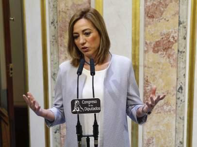 Renuncia de Chacón a las elecciones del 26-J