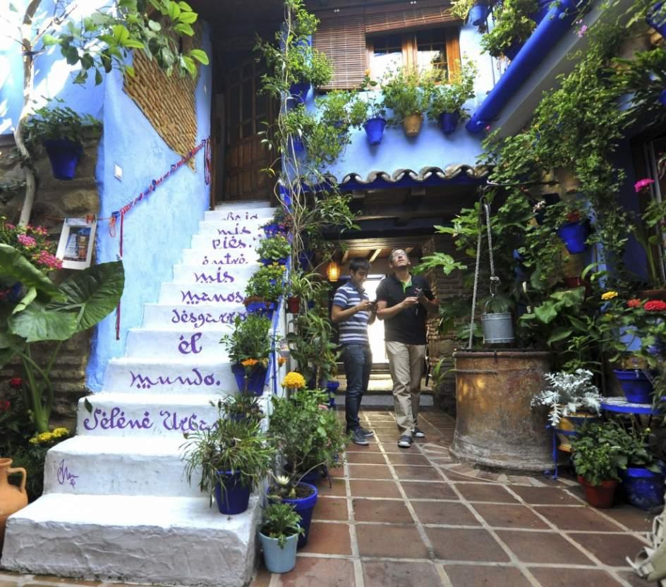 La fiesta de los patios de c rdoba vuelve al tradicional - Patios andaluces decoracion ...