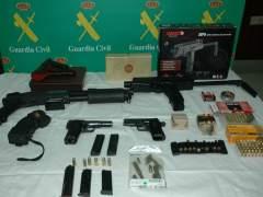La Guardia Civil expondrá en Madrid más de 2.600 armas para subasta