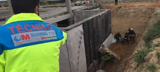 Accidente laboral en Alcorcón