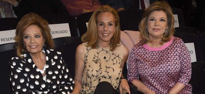 María Teresa Campos, Rocío Carrasco y Terelu Campos