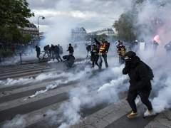 Disturbios por las manifestaciones contra la reforma laboral en Francia