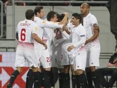 El Sevilla se acerca a la final tras empatar en Ucrania