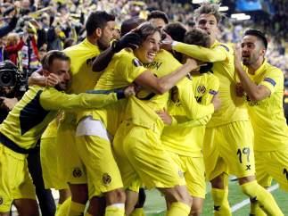 Gol del Villarreal