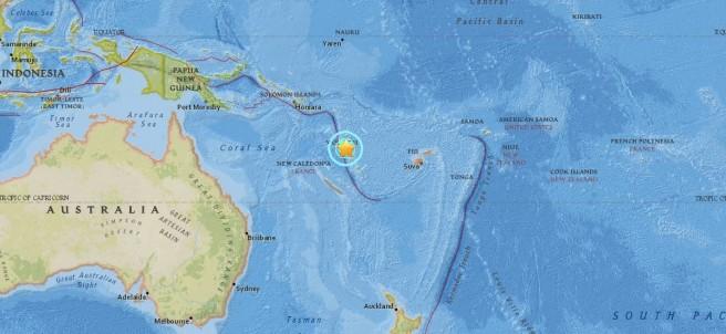 Terremoto en Vanuatu