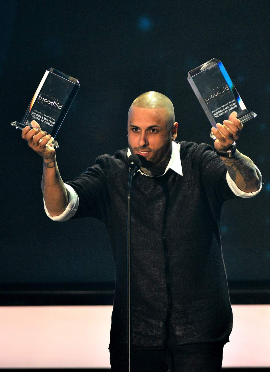 ganadores de los premios billboard: