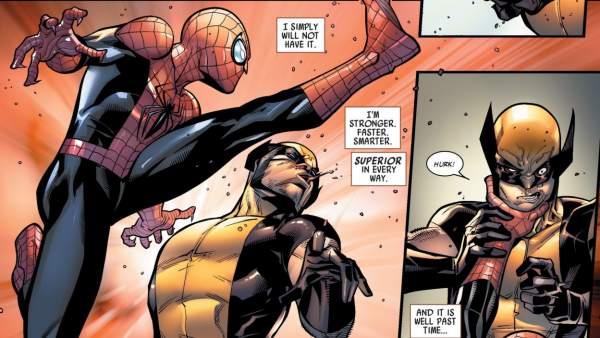 Spider-Man y Lobezno