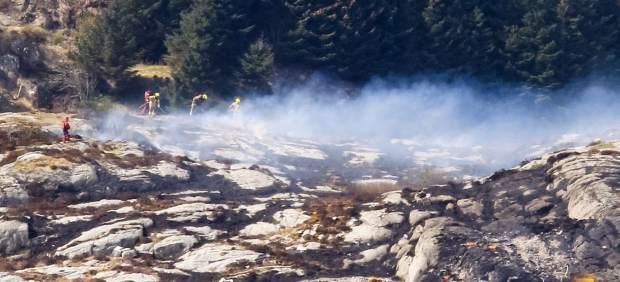 Al menos once muertos tras estrellarse un helicóptero en la costa oeste de Noruega