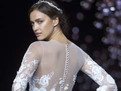Irina Shayk se viste de novia en Barcelona