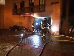 Dos heridos por una explosión en un bar en San Blas, Madrid