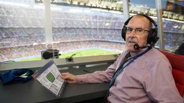 Manel Vich, la voz del Camp Nou