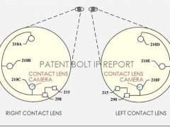 Google patenta una microcámara en una lentilla