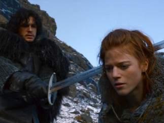 Jon Nieve e Ygritte