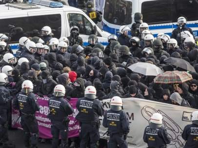 Protestas en Alemania