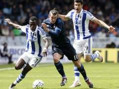 Bale salva al Madrid y los blancos siguen peleando por la Liga