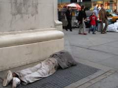 El número de familias viviendo en refugios en Nueva York, récord