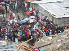 Al menos 16 muertos y heridos tras un derrumbe en Nairobi