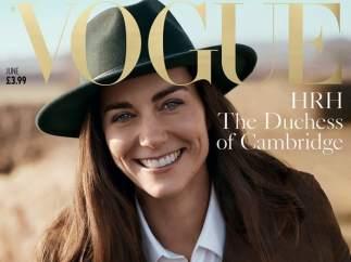 Catalina Middleton, portada de 'Vogue'