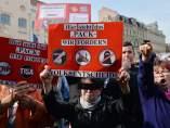 Manifestación anti-islam en Alemania