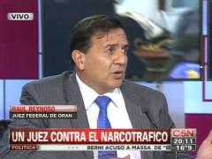 Detienen a un exjuez argentino por beneficiar a narcotraficantes