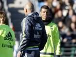Cristiano y Zidane