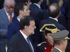 Rivera y Rajoy reprochan a Sánchez que ya hable de vetos al PP tras el 26-J