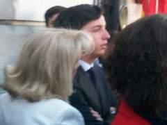 Impiden al 'pequeño Nicolás' entrar a la recepción de autoridades