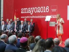 Cifuentes preside los actos oficiales con motivo del Dos de Mayo