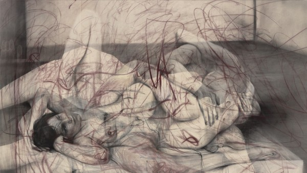 JENNY SAVILLE - One out of two (symposium), 2016