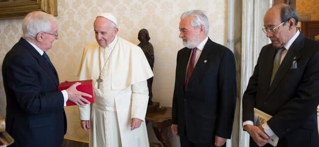 Un Quijote para el papa Francisco