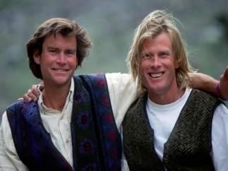 Los alpinistas Alex Lowe y David Bridges, desaparecidos en el Himalaya en 1999