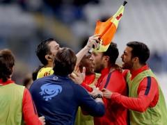 """Rubi, sobre el gol anulado: """"Es una vergüenza"""""""