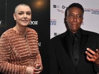Sinéad O'Connor y Arsenio Hall