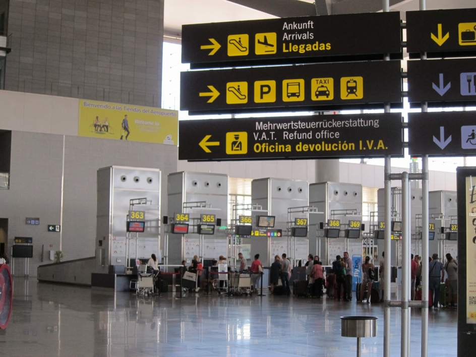 Turismo el aeropuerto de m laga costa del sol estrena - Porta garibaldi malpensa terminal 2 ...