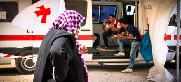 Decenas de heridos tras los enfrentamientos en el campo de refugiados de Samos (Grecia)