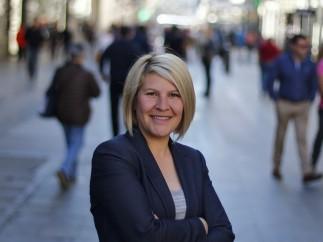 Silvia Barquero, presidenta del partido animalista Pacma