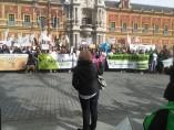 Manifestación de Pacma en Sevilla contra la tauromaquia